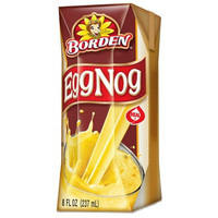 BORDEN EGG NOG 8 OZ & 32 OZ