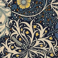 William Morris Seaweed wallpaper - neilepi - Spoonflower