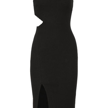 Elizabeth and James - Giulia cutout stretch-cloqué dress