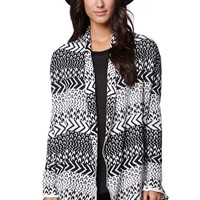 Rip Curl New Moon Cardigan - Womens Sweater - Black