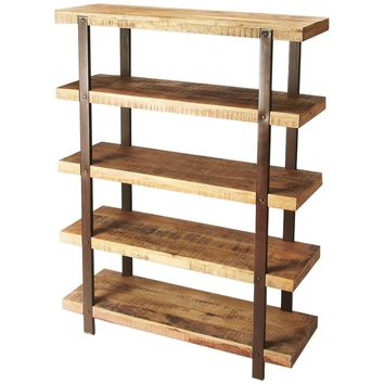 Atherton Industrial Chic Etagere