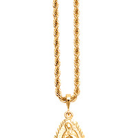 MARY THE VIRGIN GOLD CHAIN