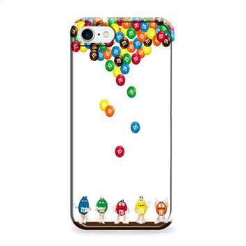 M&M's Candies Fall iPhone 7 | iPhone 7 Plus case