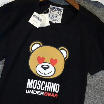 '' MOSCHINO ''Hot letters print T-shirt top