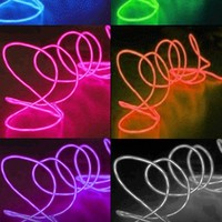 Portable EL (electro-luminescent) Light Up Wire