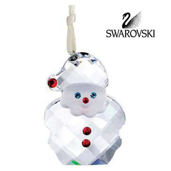 Swarovski Crystal Christmas Ornament SANTA CLAUS ORNAMENT #5103223