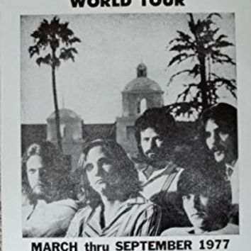 The Eagles Hotel California World Tour Poster