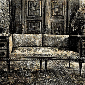 french living room png clip art  Digital Image Download room interior victorian french furniture
