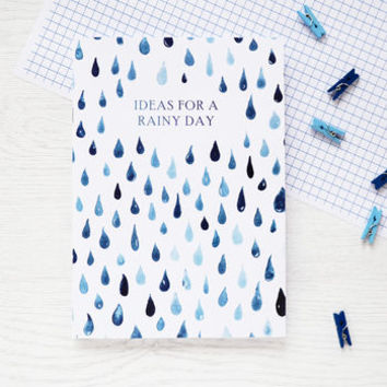 Ideas For A Rainy Day Watercolour Notebook