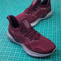 Adidas Alphabounce Beyond Wine Red Sport Running Shoes - Best Online Sale