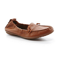 Hush Puppies Ceil Moc-Toe Loafers - Tan