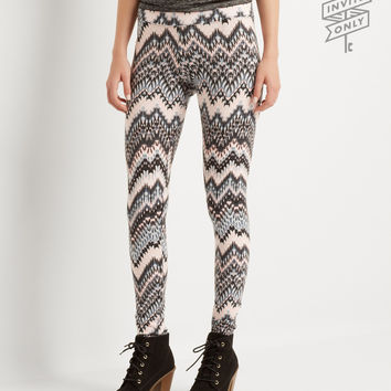 Aeropostale  Invite Only Zigzag Leggings