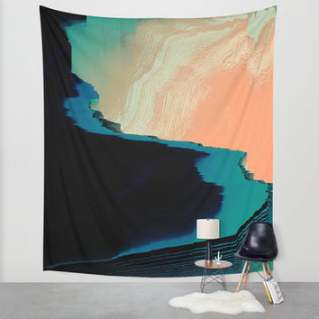 CliffHanger Wall Tapestry by DuckyB (Brandi)