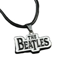 Beatles Music Band Pendant Necklace Steel Chain Fashion Stainless Metal