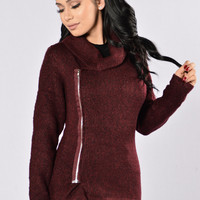 Crew Love Jacket - Wine