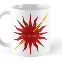 "Game  of Thrones - House Martell ""Unbowed Unbent Unbroken"" Mug"