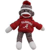 "Ncaa Collegiate Collectible 11"" Team Sock Monkey (alabama Crimson Tide) (red)"