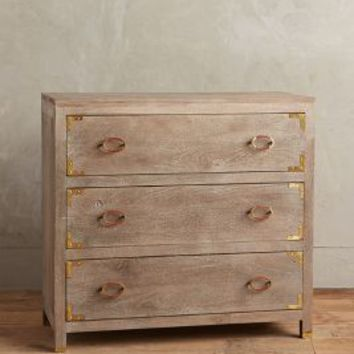 Portside Three-Drawer Dresser by Anthropologie in Neutral Size: 3 Drawer Furniture