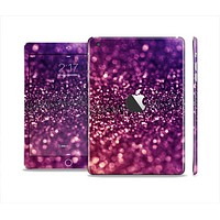 The Unfocused Purple & Pink Glimmer Skin Set for the Apple iPad Mini 4