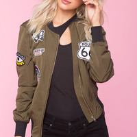 Patch It Up Bomber Jacket