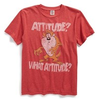 Boy's Junk Food 'Tasmanian Devil - Attitude? What Attitude?' T-Shirt