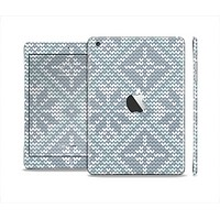The Knitted Snowflake Fabric Pattern Full Body Skin Set for the Apple iPad Mini 2