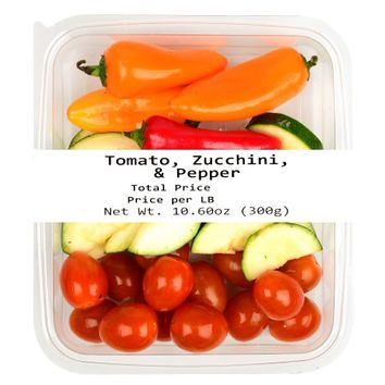 Freshness Guaranteed Tomato, Zucchini & Peppers, 10 oz - Walmart.com
