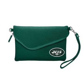 New York Jets Tailgate Pebble Purse