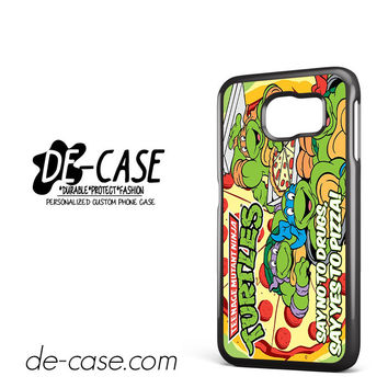 Tmnt Ninja Turtle Say Yes To Pizza For Samsung Galaxy S6 Samsung Galaxy S6 Edge Samsung Galaxy S6 Edge Plus Case Phone Case Gift Present YO