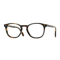 Finley Esq. Square Reading Glasses, Havana - Oliver Peoples