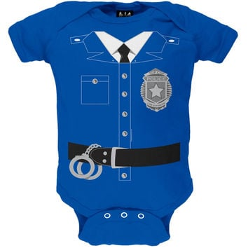 Policeman Costume Baby One Piece