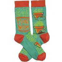 Plant Mom Grow Damn It Women's Socks