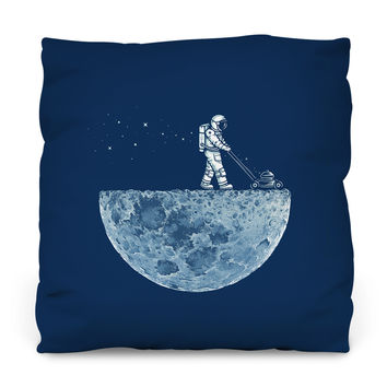 Mown Outdoor Throw Pillow