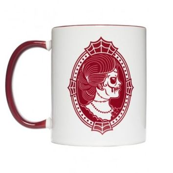 """Zombie Cameo"" Lady Mug by Sourpuss Clothing"