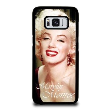 MARYLIN MONROE Samsung Galaxy S8 Case Cover