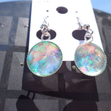 Clear Holographic Earrings