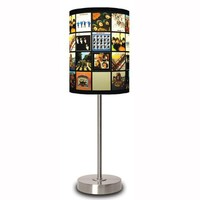 The Beatles Album Covers Table Lamp
