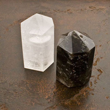 Roost Quartz Salt and Pepper Shakers | Rain Collection