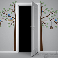 Childrens tree wall decal The original Door by HouseHoldWords