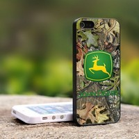 JOhn deere cemo - For iPhone 5 Black Case Cover