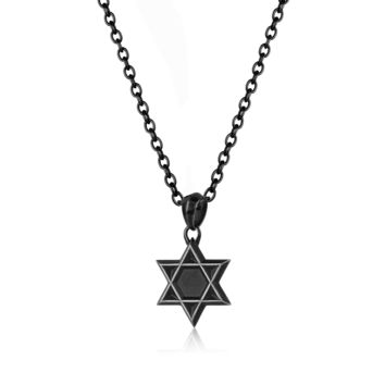 Star of David Necklace-Men