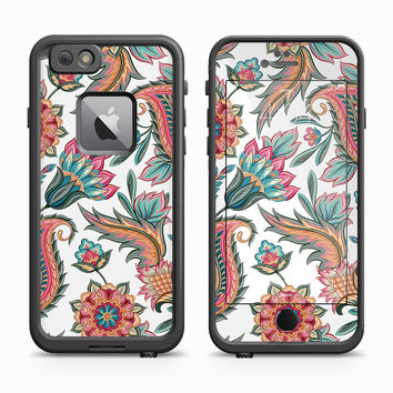 Paisley Inflorescence Cluster Skin for the Apple iPhone LifeProof Fre Case