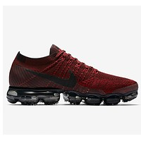 Best Deal Online 2018 Nike Air Max VaporMax Flyknit Men Women Running Shoes Red