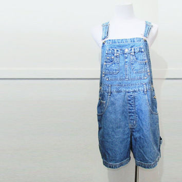 Shortalls Vintage Denim LA Blues 90's M