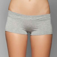Lacey Button-Front Boyshort-