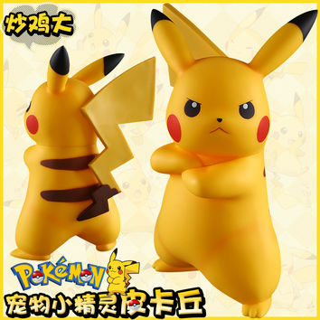 Pokemon Pokemon Pikachu Figurine hand model 19cm
