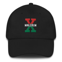 Malcolm X, Red and Green - Dad hat