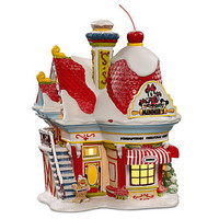 Disney Light-Up ''Minnie's Bakery'' Building by Dept. 56 | Disney Store