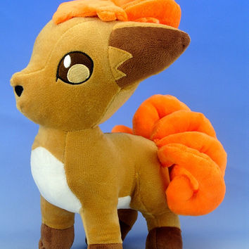 "Vulpix Plush Doll Pokemon / Pocket Monster 12""inches Six Tails"