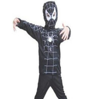 Hot 1 to 12 Fancy Halloween toddler&child boy infant spiderman&batman superhero cosplay clothes theatre party costume clothing suit X L S = 1927778244